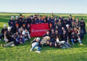 """კომპანია """"არისტონი""""-ს თანამშრომლები ჩვენთან სტუმრად"""