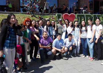 Наши госты из Казахстана